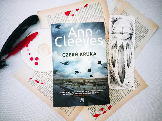 """Czerń kruka"" - Ann Cleeves"