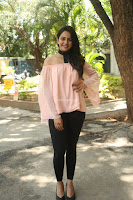 Rakul Preet Singh in lovely Pink Crop Top and Black Trousers at Jaya Janaki Nayaka success meet 062.JPG