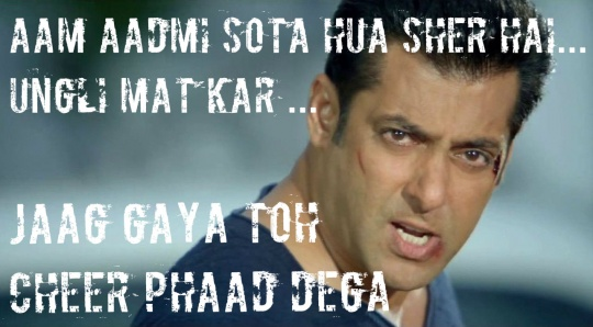some filmy dialogues