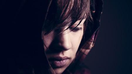 Closeup Woman Portrait