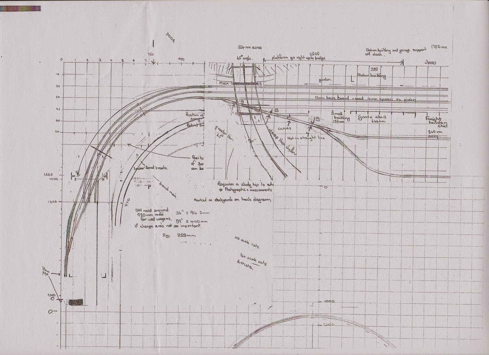 Andrew S Main South Line Track Diagram No 1