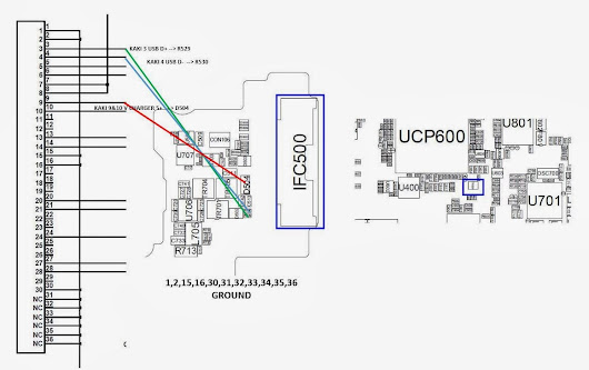 jalur USB samsung P3100/P3110
