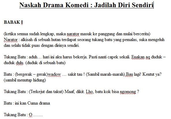 Contoh Naskah Drama Lucu Just4udakar Com