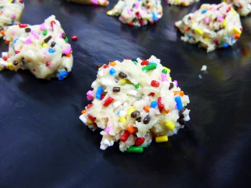 Edible Raw Cake Batter Cookie Dough