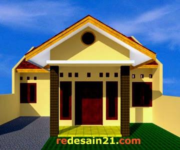 Gambar Desain Rumah Sederhana Type 76 Tanah 120 M2 Redesain21 Com Rumah Properti Desain Eksterior Interior Tutorial