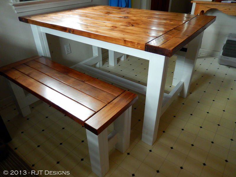 Large Farm Table Plans: Bepa's Garden: Farmhouse Table Plans