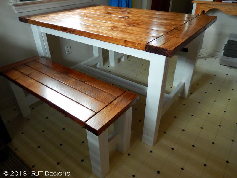 Bepa's Garden: Farmhouse Table Plans