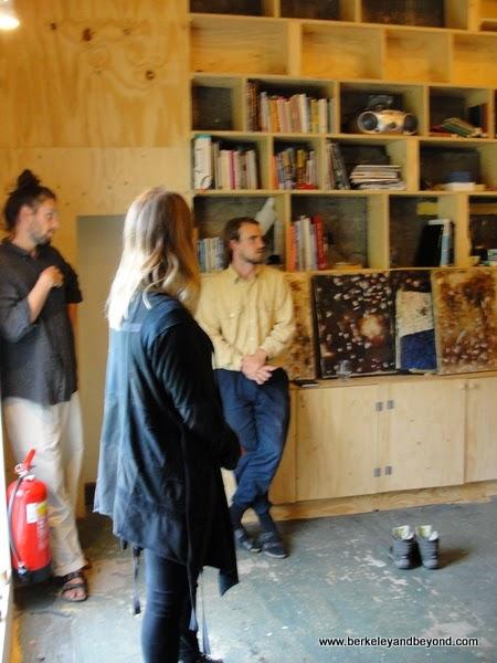 Heima artists' collective in Seydisfjordur in northeast Iceland
