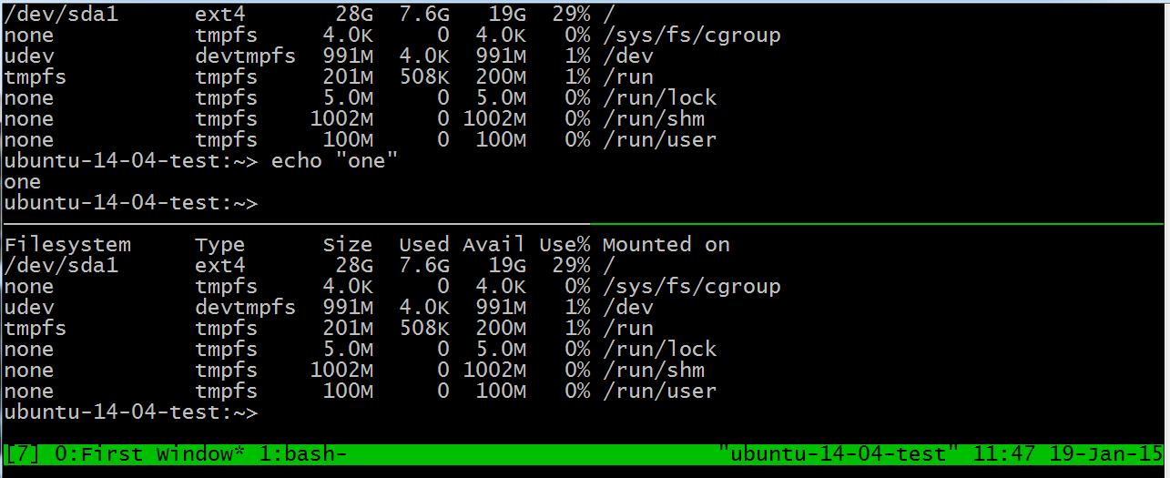 WhiteBoard Coder: Using tmux