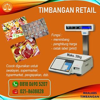 Timbangan retail