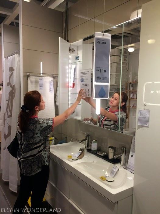 Dalam Bilik Mandi Kak Elly A Ada Benda2 Basic Sahaja Sebab Ruang Tak Berapa Besar Tapi Bila Tengok Showroom Kat Ikea Ni