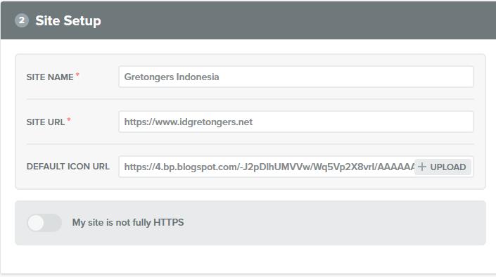 Cara Membuat Web Browser Push Notification di Blog dengan Mudah