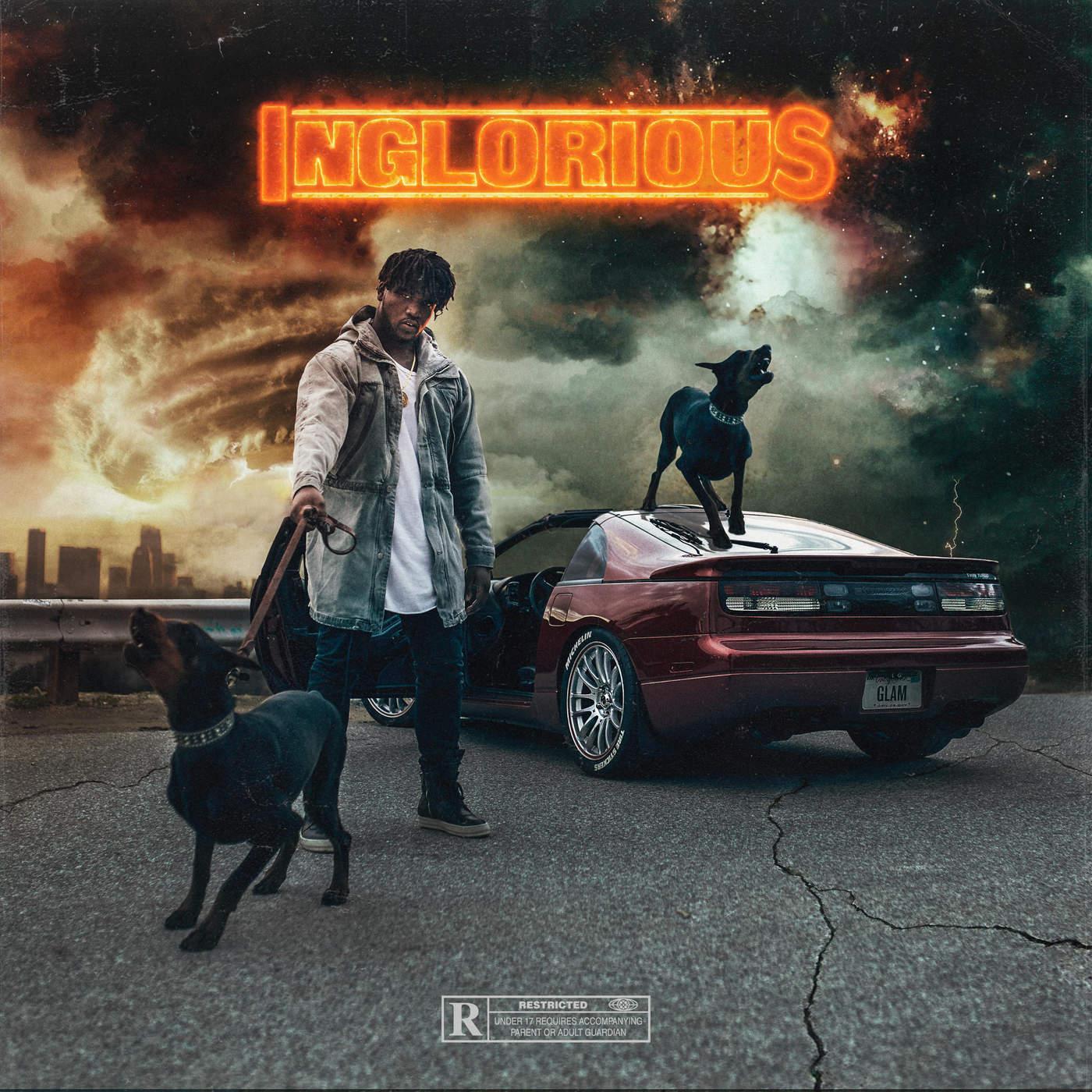Derek Wise - Inglorious Cover