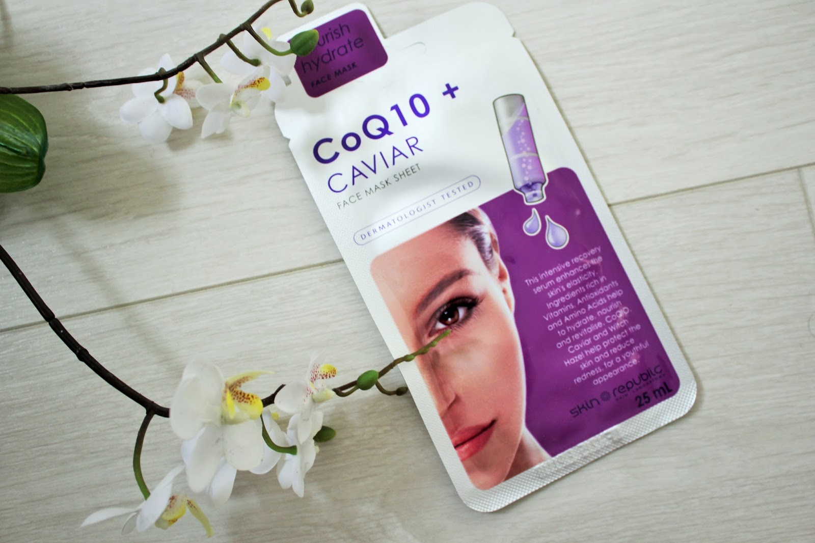 Skin Republic CoQ10 + Caviar Sheet Mask Review