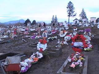 Resultado de imagen para cementerio de el bolson