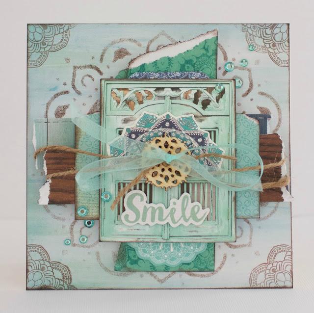 Kaisercraft Ubud Dreams Card by Alicia McNamara