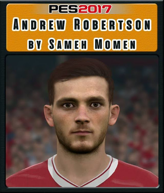 Andrew Robertson Face PES 2017