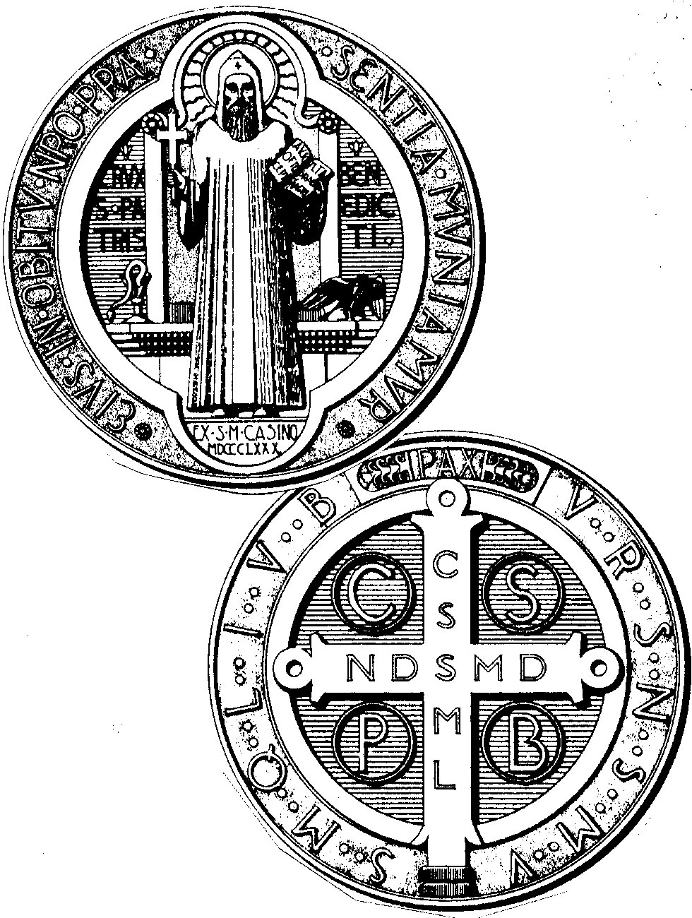 St. Emma Nuns: The Medal of St. Benedict