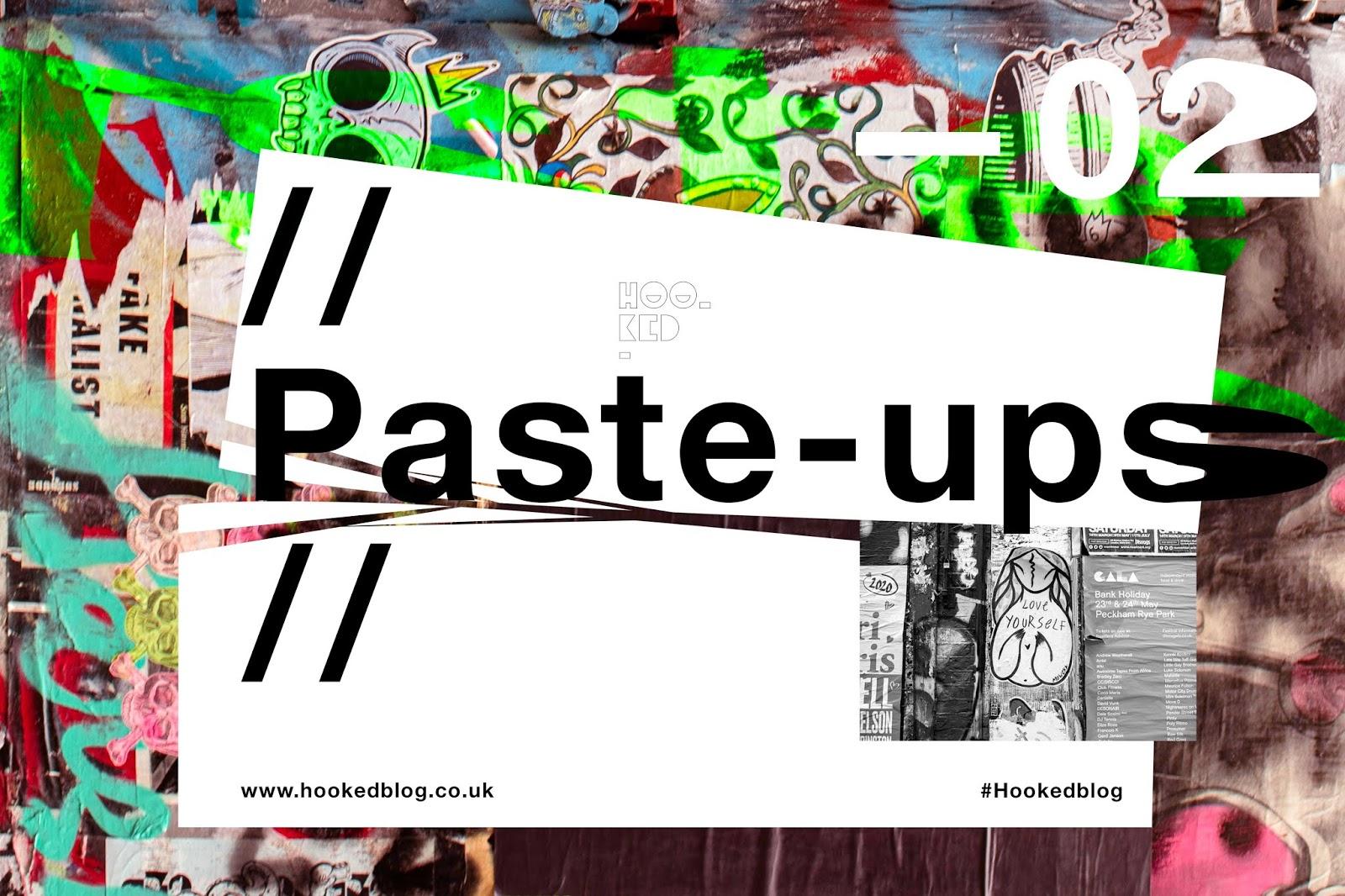 Shoreditch Street Art Paste-Ups Edition 2