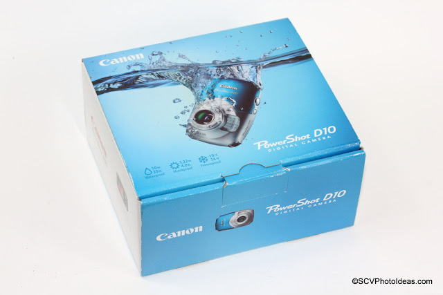 Canon PowerShot D10 Camera Boxed