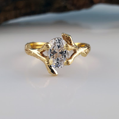 Twig Engagement Ring