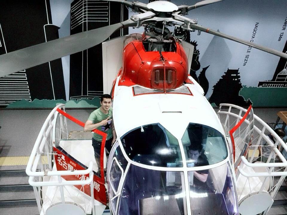 Nepali hero on helicopter, nepali handsome boy