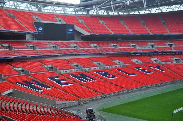 Estádio de Wembley em Londres