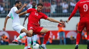 التعادل السلبي ينهي مواجهة فلسطين والسعودية في تصفيات آسيا المؤهلة لكأس العالم 2022
