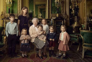 Queen Elizabeth II- Grandchildren-great-grand-children