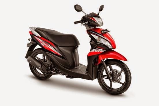Skutik New Honda Spacy FI