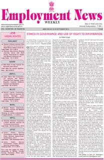 Employment News PDF, Download Employment News ePaper