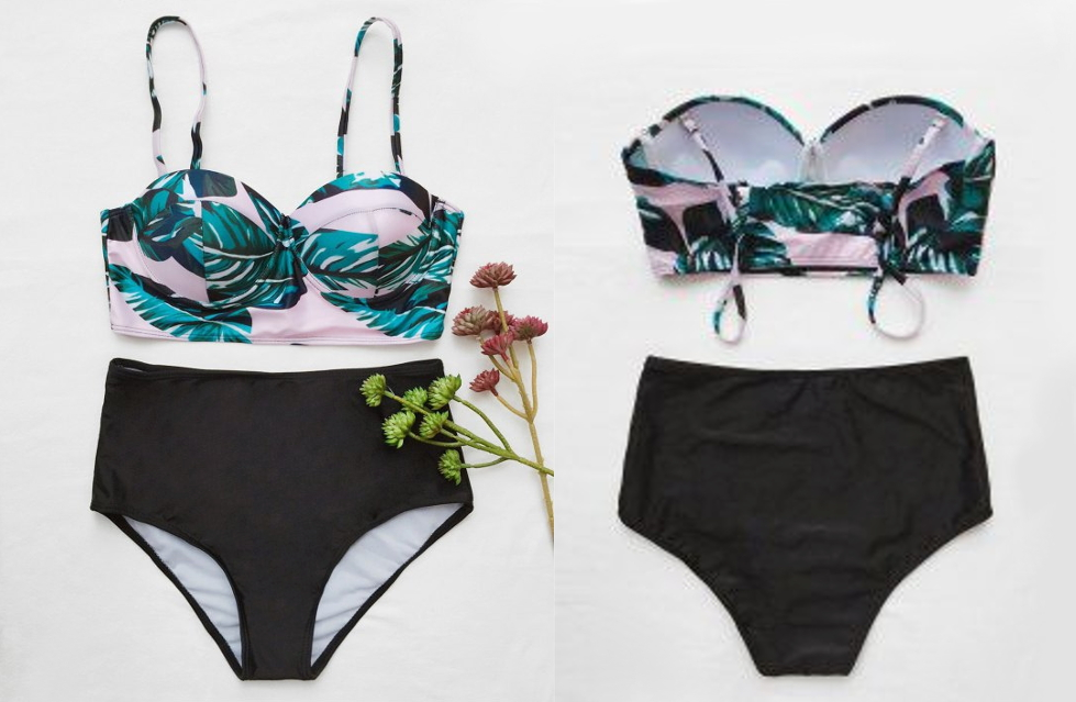 liz breygel fashion blogger summer swimsuit bikini haul review plus size