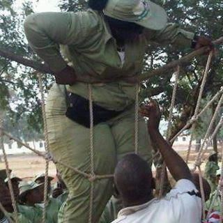 dike chiedozies blog lol pics1 - 9 Funny NYSC Pictures That Will Break Your Jaws With Laughs