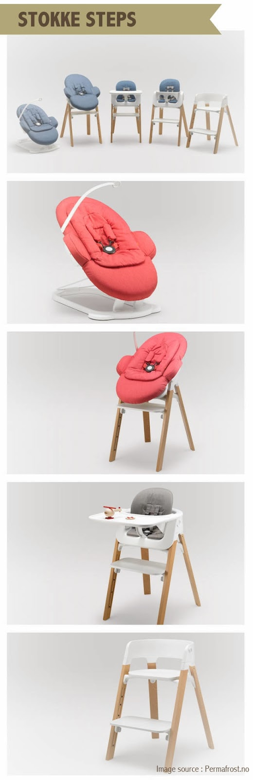 Stokke Steps Chair Stokkelovers