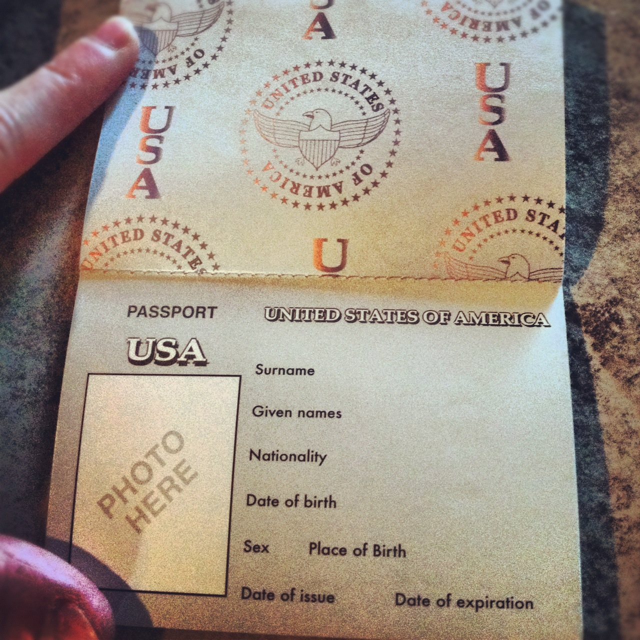 Antidotes For Mom: Kid's Passport (Domestic/Play Only