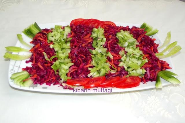 salata çeşitleri salatalar karışık salata  mevsim salataları yeşil salata kara lahana salatası