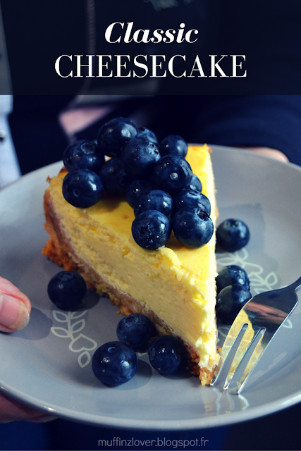 Recette facile cheesecake - muffinzlover.blogspot.fr