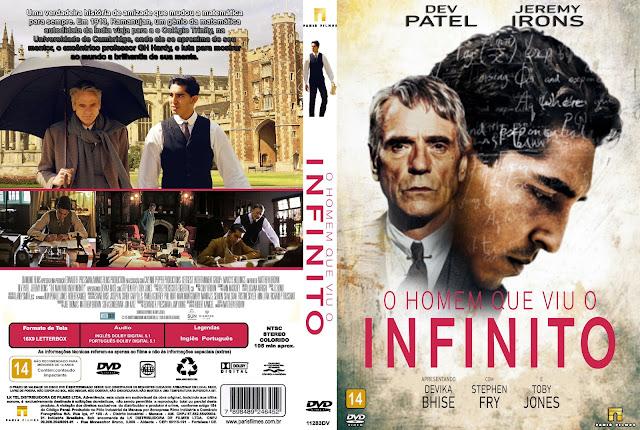 Capa DVD O Homem Que Viu O Infinito
