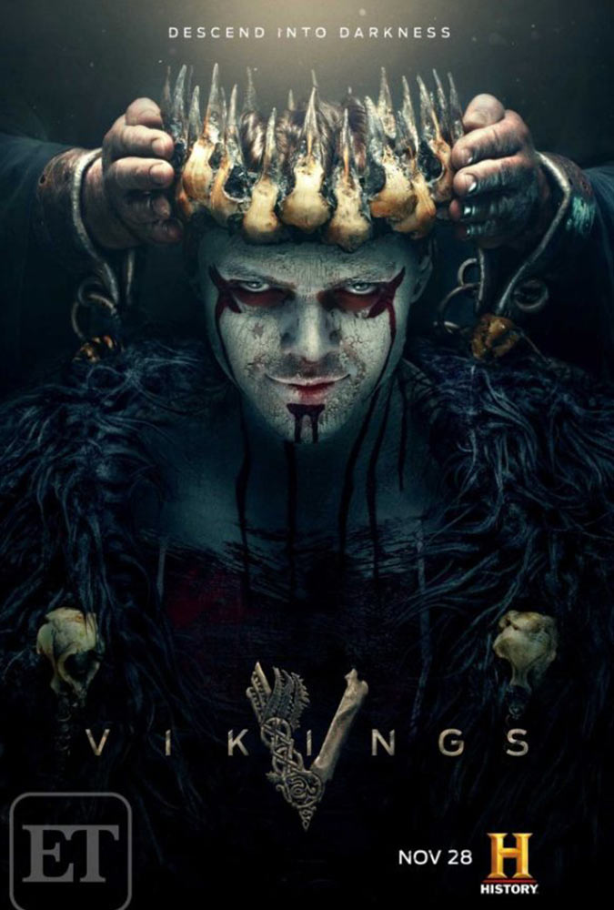 Vikings Temporada 5 Completo HD 1080p Latino Dual