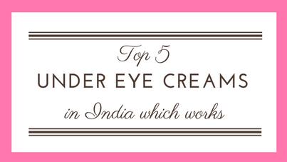 Best 5 Paraben-Free Under Eye Creams in India Which Works