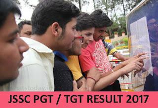 JSSC TGT PGT Result 2017, JSSC Result, Jharkhand SSC PGT Results