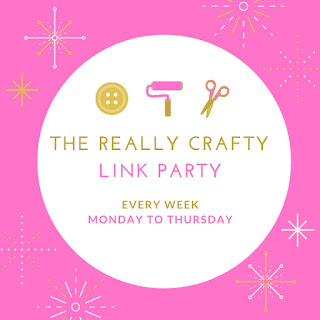 The really crafty link party, keeping it real, craft blog