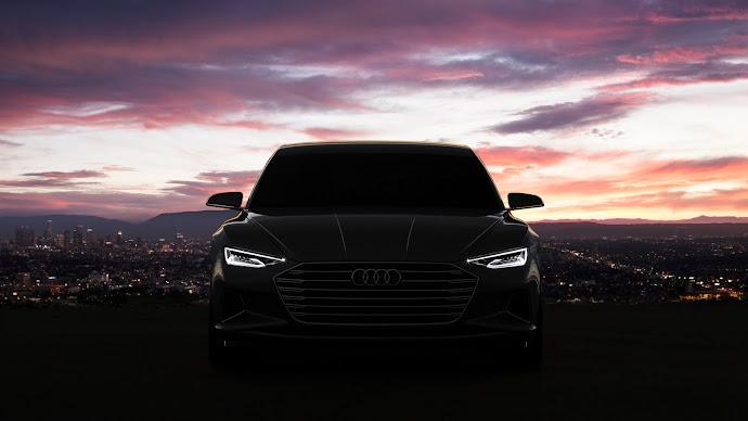 Wallpaper: Audi Prologue concept