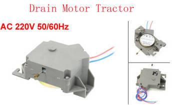 Motor drain - mesin cuci 1 tabung Top loading