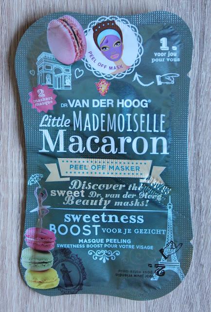 Little Mademoiselle Macaron Masker