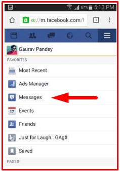 how to read others facebook messages without password