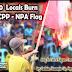 18 NPA supporters inabandona ang kalupitan ng grupo, CPP-NPA flag sinunog