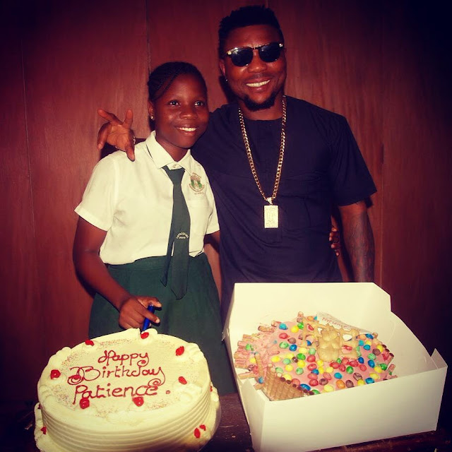 oritsefemi daughter Patience birthday pictures