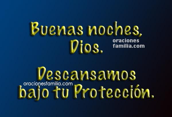 Oración corta de la noche para dormir tranquilo y profundamente,   oraciones para antes de descansar.   Plegaria por Mery Bracho.
