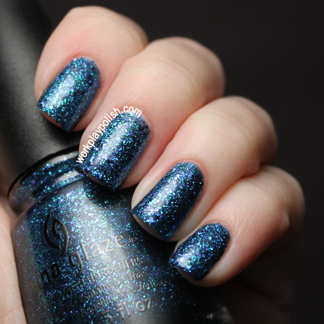 China Glaze Cirque Du Soleil Collection: Water You Waiting For (work / play / polish)